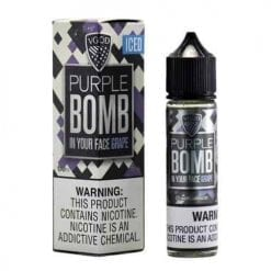 VGOD iced Purple Bomb | VGOD | 60ML Vape E-Liquid | Vaperite.co.za