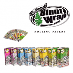 Double Platinum | Tobacco Blunt Wraps | 2 Pack | Canna-Rite | Vaperite
